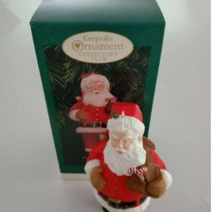 1996 Hallmark Keepsake Ornament Santa
